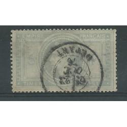 1862-70 FRANCIA IMPERO EMPIRE FRANCAIS NAPOLEONE III 5 F USATO RAYBAUDI MF23953