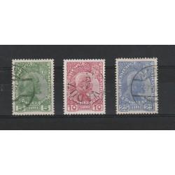 1912 LIECHTENSTEIN PRINCIPE GIOVANNI II 3 VAL USATI  MF17809