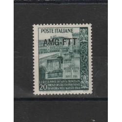 1949 TRIESTE A RICOSTRUZIONE PONTE S TRINITA 1 VALORE mnh  MF17887