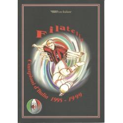 1999 REPUBBLICA ITALIANA FOLDER MILAN CAMPIONE 1998-1999 MF24091