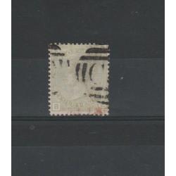 1876 GRAN BRETAGNA GB UK REGINA VITTORIA  4 P  - UNIF N 59  USATO SORANI MF18199