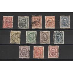 1905 LUSSEMBURGO EFFIGIE DEL GRAN DUCA GUGLIELMO 12 VAL USATI MF18197