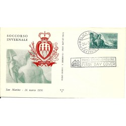 1956 FDC ALA SAN MARINO...