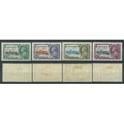 CAYMAN ISLANDS 1935 SILVER JUBILEE GEORGE V  4 V  MLH SG 108-111 MF24136