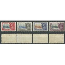BERMUDA 1935 SILVER JUBILEE GEORGE V 4 V MLH SG 94-97 MF24145