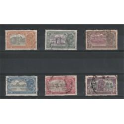 INDIA 1931 GEORGE V INAUGURAZIONE NUOVA DELHI 6 VAL USATI MF18244