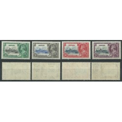 GRENADA 1935 SILVER JUBILEE GEORGE V 4 V MLH SG 145-148 MF24154