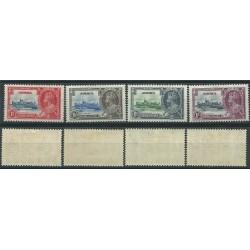 JAMAICA 1935 SILVER JUBILEE GEORGE V 4 V MLH SG 114-117 MF24169