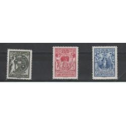 1932 LIECHTENSTEIN PRO INFANZIA  3 VAL MNH MF18335