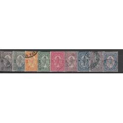 1882 BULGARIA DEFINITIVA LEONE  UNIF N 12-20  NOVE  VAL USATI MF18447
