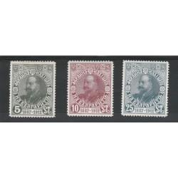 1912  BULGARIA 25 REGNO 3 VAL MLH  UNIF N 90/92 MF18446