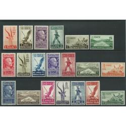 1938 AOI A.O.I. SERIE SOGGETTI VARI  POSTA ORDINARIA 20 V NUOVI MNH MF24218