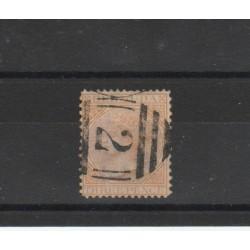 BERMUDA 1865-73 VICTORIA YVERT N 6 UN VAL USATO MF18465