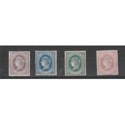 ANTILLE SPAGNOLE  1867 ISABELLA II  YV 22-25 - 1V MLH MF18573