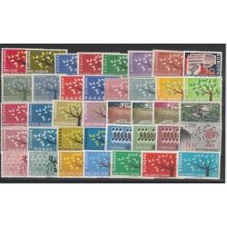 EUROPA CEPT ANNATA  1962 - 39 VALNUOVI MNH MF18609
