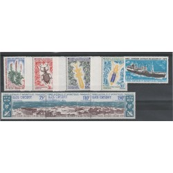1973 TAAF TER ANTARTICO FRANCESE ANNATA COMPLETA YEAR SET 8 V MNH MF18628