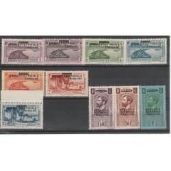 AFRIQUE EQUATORIALE FRANCAISE1936 SOPRAASTAMPATI 10  VAL MNH MF18748
