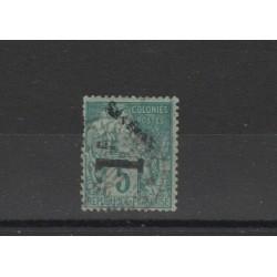 SENEGAL  1892 ALLEGORIA SOPRASTAMPATA  1 VAL USATO  MF18838