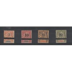 SENEGAL  1892-93 ALLEGORIA SOPRASTAMPATA  4 VAL MLH MF18839