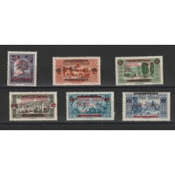1945 LIBANO GRAND-LIBAN SEGNATASSE MUSEO  4 VAL MNH ND MF18883