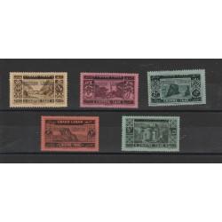1928-29 LIBANO GRAND-LIBAN  NUOVA SOVRASTAMPA  6 VAL MNH MF18858