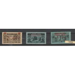1928 LIBANO GRAND-LIBAN  NUOVA SOVRASTAMPA  3  VAL MLH MF18894