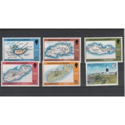 1989 ALDERNEY ANNATA COMPLETA 6 VALORI  NUOVI MNH MF19202