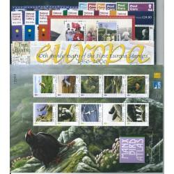 2006 MAN ANNATA COMPLETA 68  VALORI E 4 BF NUOVI MNH MF24419