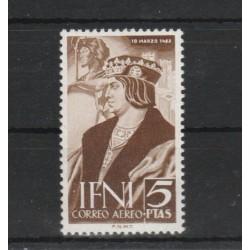 IFNI 1952  ISABELLA LA CATTOLICA  1 V MNH YV  PA 45 MF18914