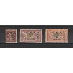 SIRIA 1921 SOVRASTAMPATA  AVION 3 VAL USATI  MF19076