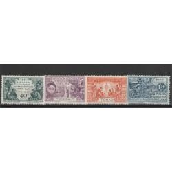TCHAD 1931  EXPO DI PARIGI 4 VAL  YVERT 56-59 MF19577