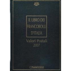 2007 ITALIA REPUBBLICA LIBRO DEI FRANCOBOLLI COMPLETO MF24504