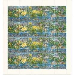1995 SAN MARINO ANNO EUROPEO CONSERVAZIONE  NATURA MINIFOGLIO NUOVO MNH MF24508