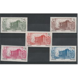 TOGO 1939 RIVOLUZIONE FRANCESE  5 V MLH YVERT 177 /181 MF1952