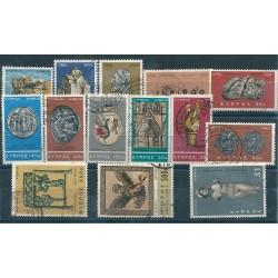 1966 CIPRO DEF. SOGGETTI DIVERSI 14 VALORI USATI MF24632