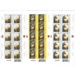 2007 EMISSIONE CONGIUNTA MALTA VATICANO NATALE 1 MINIFOGLIO NUOVO MNH MF24695