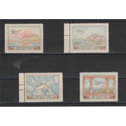 1926 GRECIA GREECE SAVOIA MARCHETTI  4 VALORI MNH MF19495