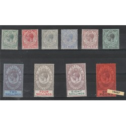 1912-24  GIBILTERRA  GIORGIO V  EFFIGIE 10 V  MF19497