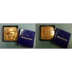 MEDAGLIA CELEBRATIVA CINEMA MAURICE CHEVALIER BRONZO MF40404