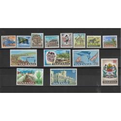TANZANIA 1965 SOGGETTI VARI 14 VAL MNH YVERT 1-14 MF18997