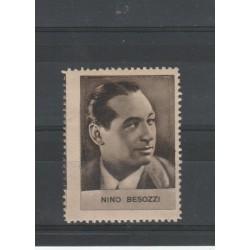 1938 NINO BESOZZI  RARO ERINNOFILO CINEMA  ANNO XVII MF19636