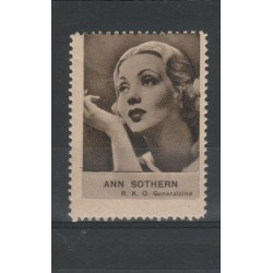 1938 ANN SOTHERN  RARO ERINNOFILO CINEMA  ANNO XVII MF19640