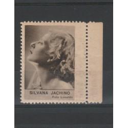 1938  SILVANA JACHINO   RARO ERINNOFILO CINEMA  ANNO XVII MF19629