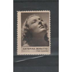1938  CATERINA BORATTO RARO ERINNOFILO CINEMA  ANNO XVII MF19626