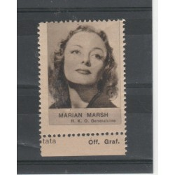 1938  MRIAN MARSH  RARO ERINNOFILO CINEMA  ANNO XVII MF19634