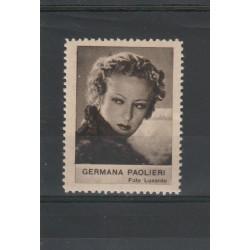 1938  GERMANA PAOLIERI  RARO ERINNOFILO CINEMA  ANNO XVII MF19631