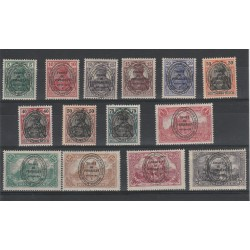 1920 GERMANIA OCCUPAZIONI ALLESTEIN  14 VAL UNIF  15-28  MLH MF19605