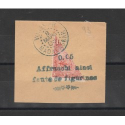 MADAGASCAR 1906  AFFRANCHI AINSI  FRAZZIONATO  USATO  MF19700