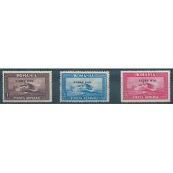 1930  ROMANIA BIPLANO SPAD 33 SOVRASTAMPATI 8 GIUGNO 1930 3 VAL MLH MF40596