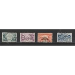 SENEGAL 1931 SOGGETTI EXPO PARIGI 4 VAL USATI  MF19739